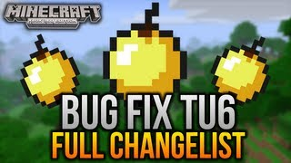 Minecraft (Xbox 360) - Bug Fix Patch - TU6 1.8.2 Update - Full Changelog and Fixes!