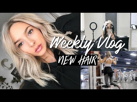 CUTTING MY HAIR OFF & FINDING MOTIVATION TO WORKOUT | VLOG WEEK 9