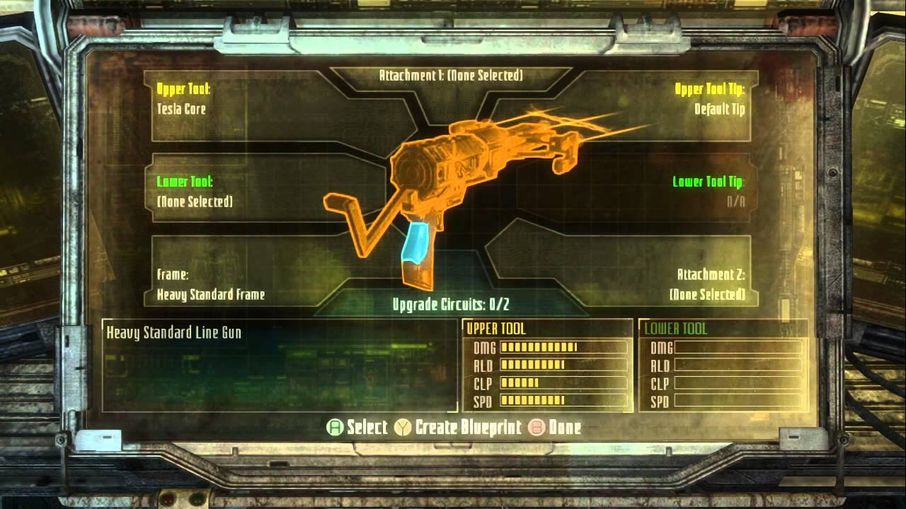 Dead space 3 demo weapon crafting youtube dead space 3 demo weapon crafting malvernweather Choice Image