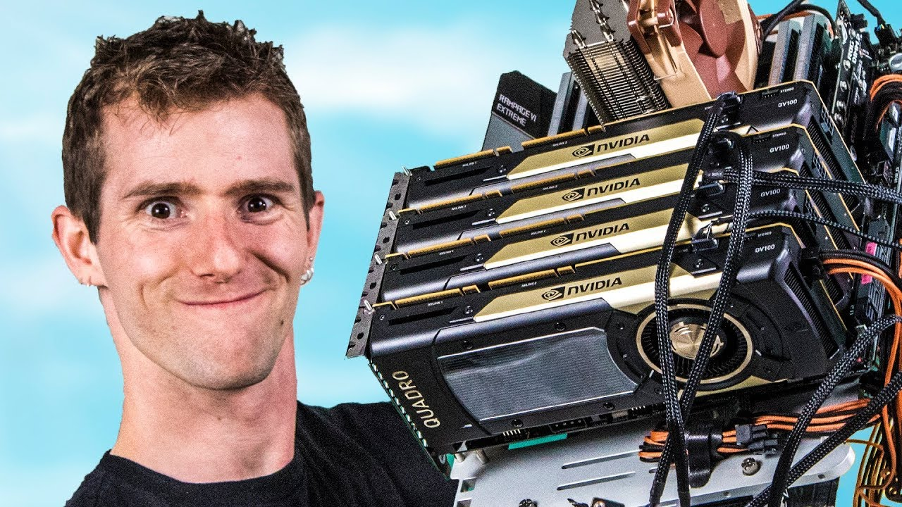 We THOUGHT this $40,000 PC would break records... by Linus Tech Tips