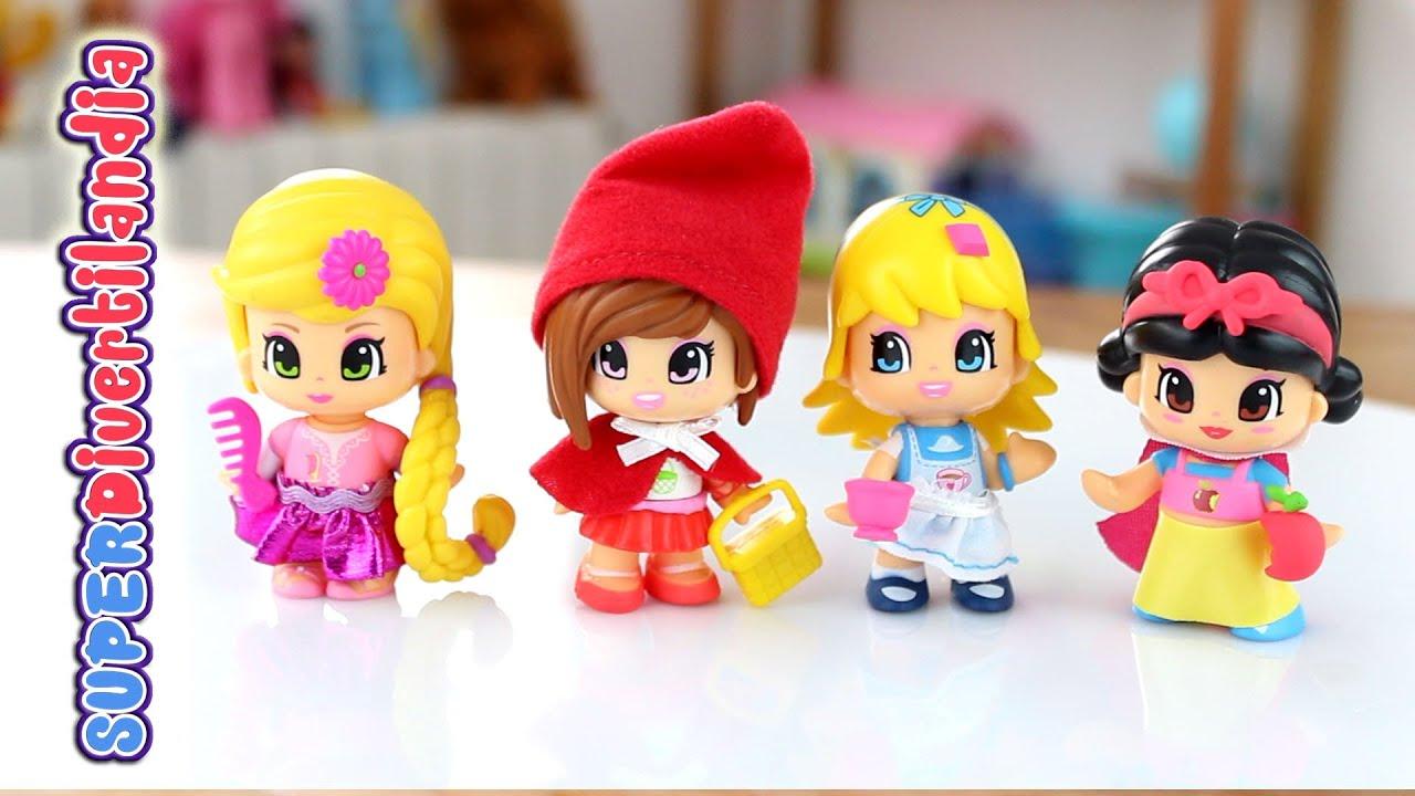 Pinypon princesas y personajes de cuentos youtube - Casitas de princesas ...