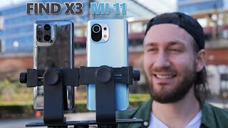 Oppo Find X3 Pro vs Xiaomi Mi 11 - Camera Comparison Test! | VERSUS