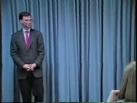 Eric Schmidt Public Speaking Class