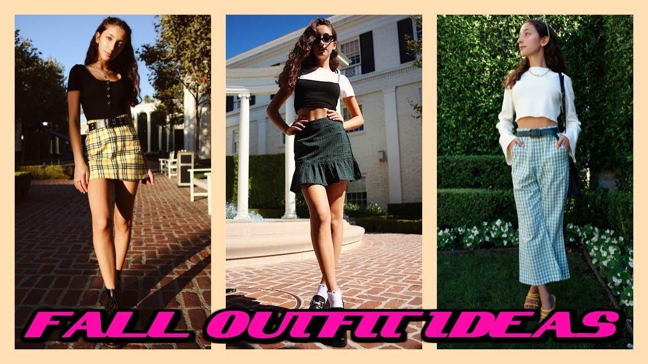 FALL OUTFIT IDEAS! // Lookbook 7