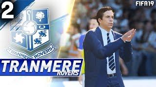FIFA 19 | KARIERA TRANMERE ROVERS RTG | #02 - Perfekcyjny występ!