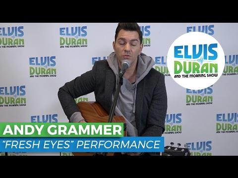 Andy Grammer - Fresh Eyes Acoustic | Elvis Duran Live