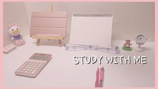 [2019.11.09] D-106 CPA(공인회계사) , 같이 공부해요, STUDY WITH ME, 장작소리ASMR