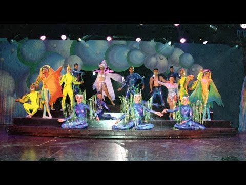 ODYSSEA whole show! Princess Productions Princess Cruises