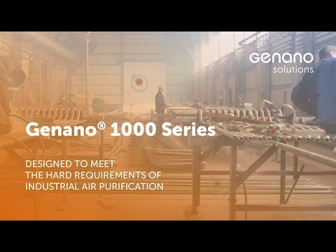 Genano® 1000 – Unique air purification system designed for industrial use