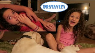 Hayley LOVES Thunderstorms! (Annie Does Not) (WK 242.6) | Bratayley