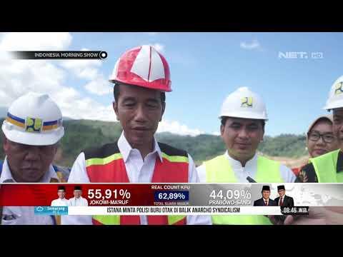 Presiden Jokowi Resmikan Bendungan Gondang