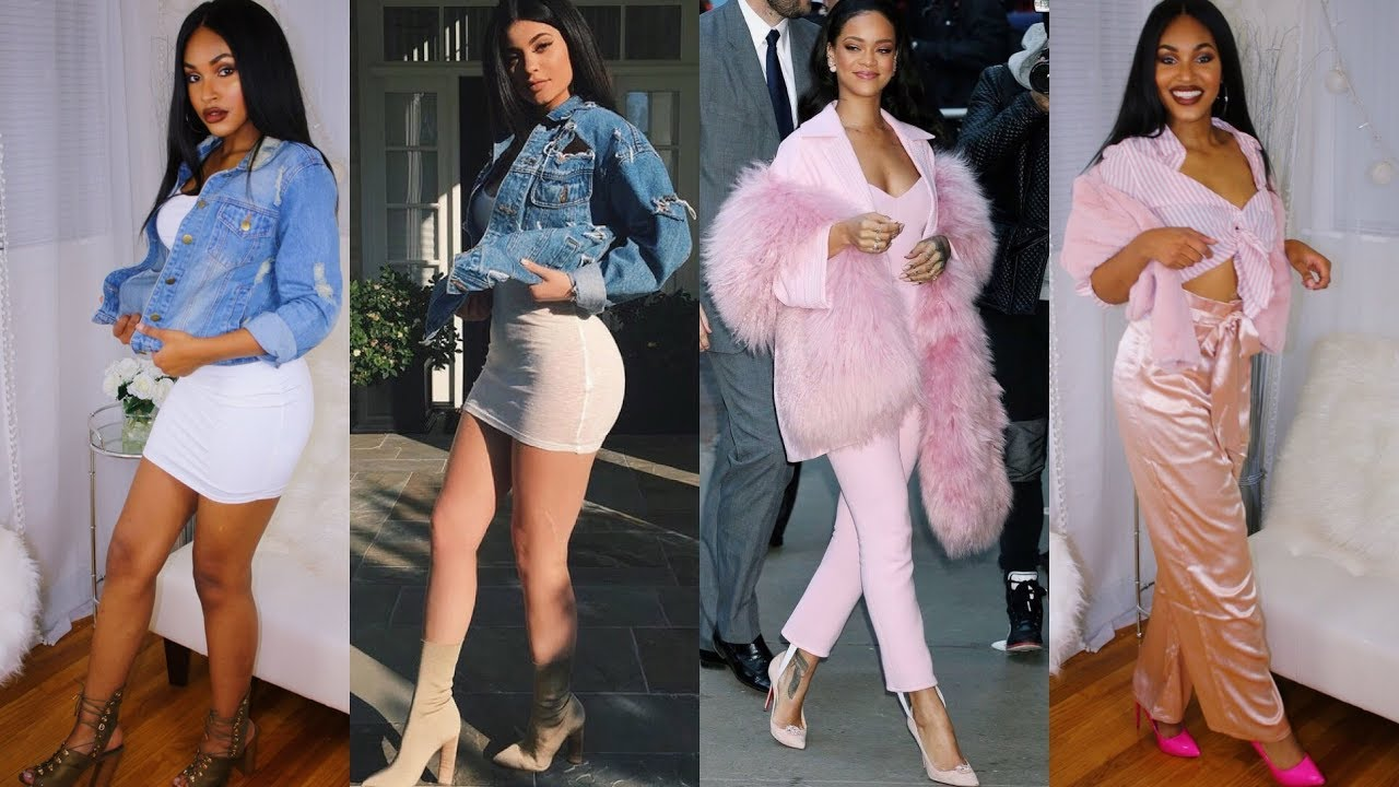 4 Celebrity Inspired Outfits