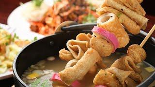단체급식메뉴, 어묵꼬치탕 김치볶음밥 계란후라이 샐러드 …
