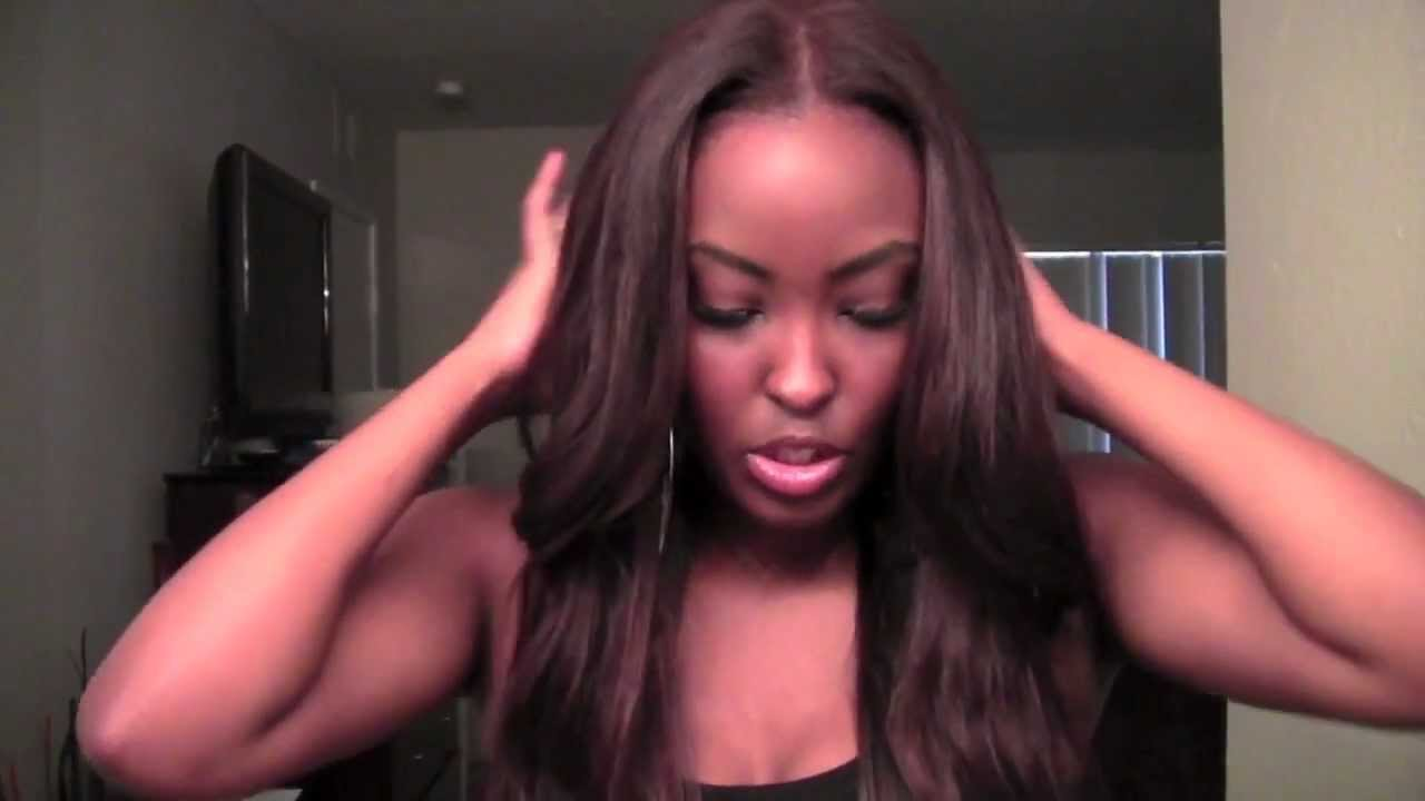 Brown Sugar Hair Co Brazilian Straight First Look Colored