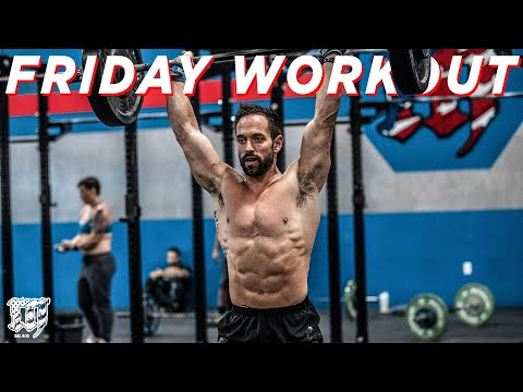 BACK TO WORK // Friday Workout 1.8.21