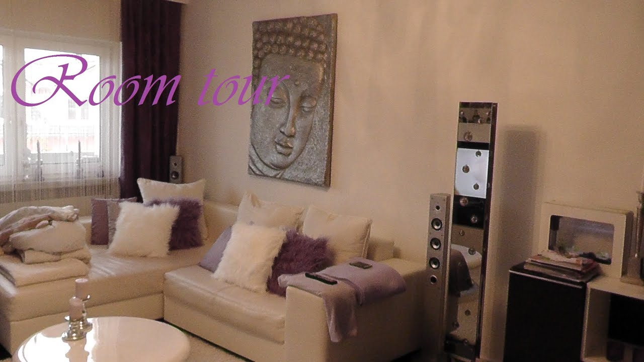 meine room tour wohnzimmer k che youtube. Black Bedroom Furniture Sets. Home Design Ideas