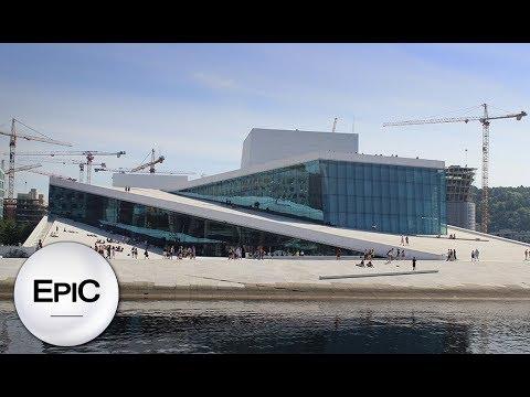 Operahuset (Opera House) - Oslo, Norway (HD)
