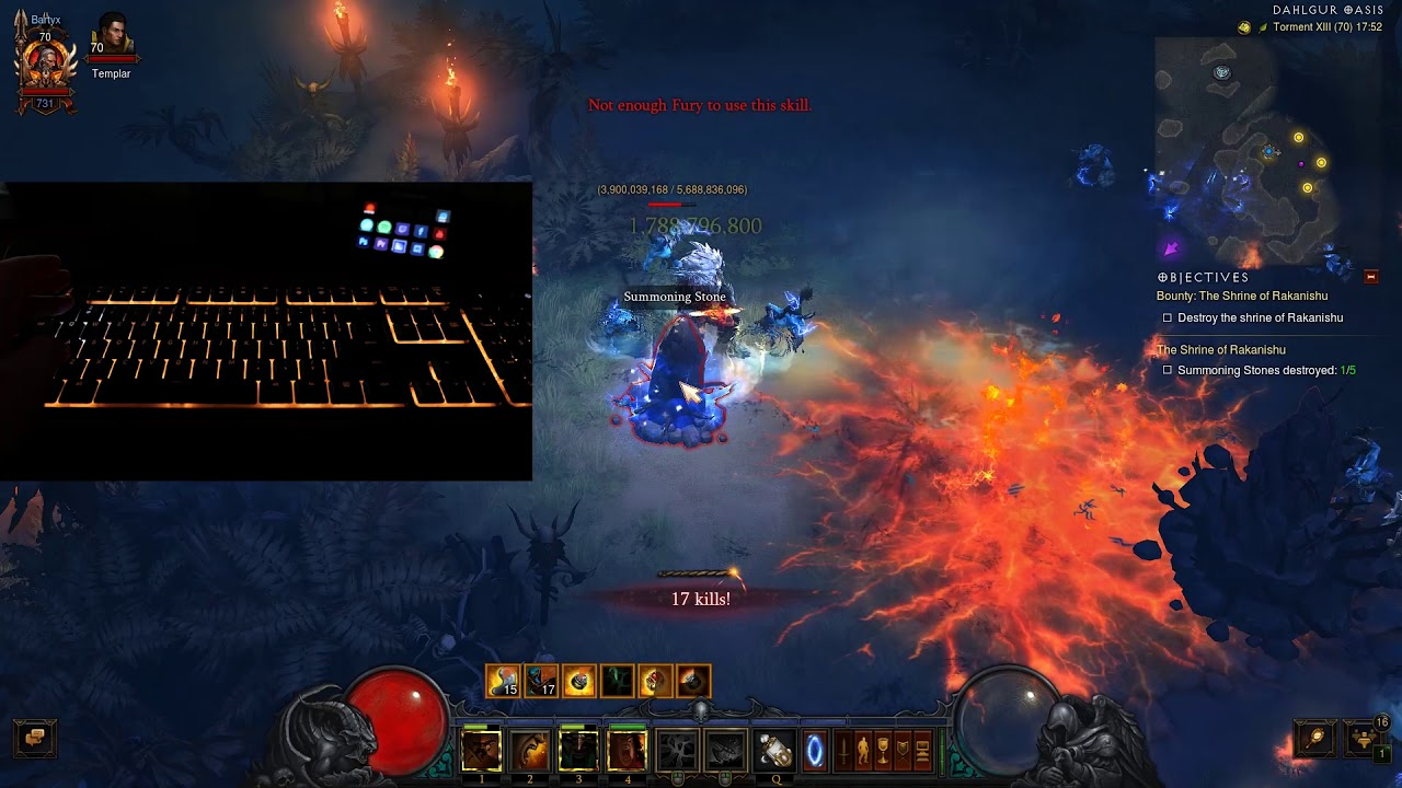 [CZ] Razer Chroma Link v Diablo 3 Demo