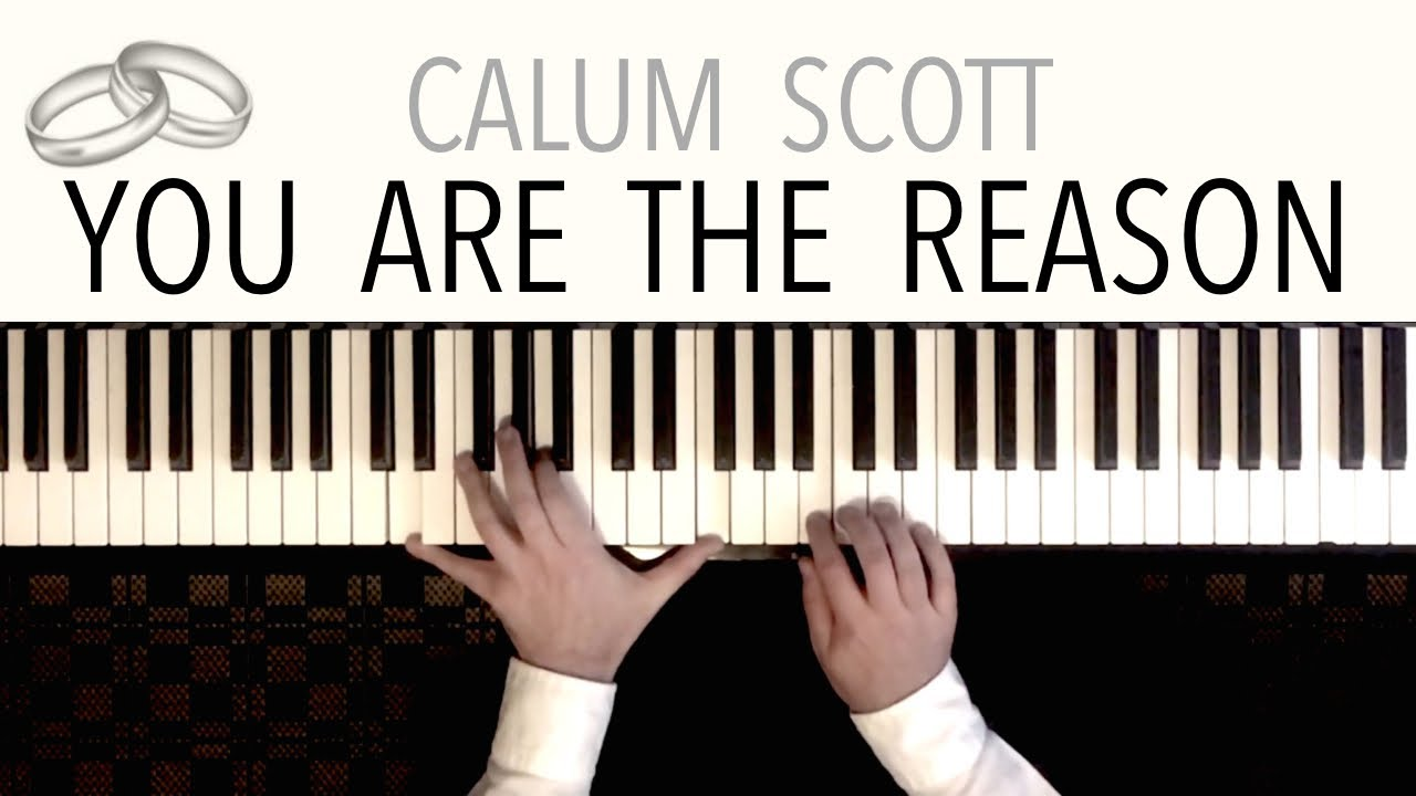 You Are The Reason (Wedding Version) | Piano Cover featuring 'Ave Maria' &  'Canon in D'
