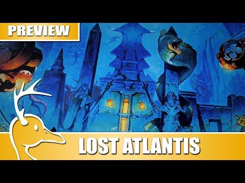 Lost Atlantis - Kickstarter Preview - (Quackalope Gameplay)