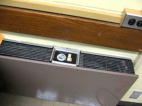 1989 General Electric Wall Air Conditioner Youtube