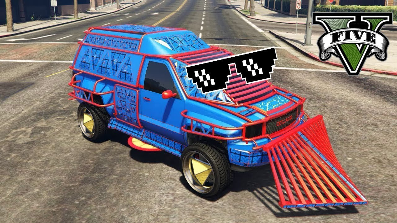GTA 5 Thug Life   Баги, Приколы, Фейлы, Трюки, Эпичные Моменты #93