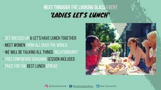 Ladies Let's Lunch Promo - November 2020 - Booking link in description
