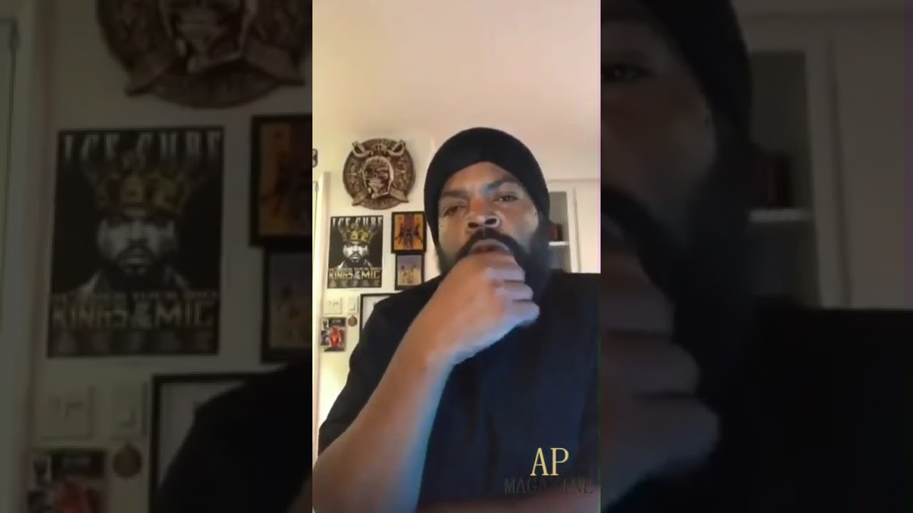 Ice cube has a message for the black community