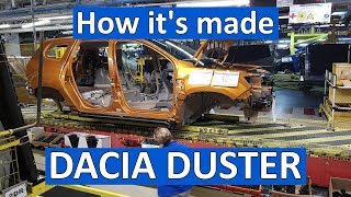 How it's made: Dacia Duster la Mioveni