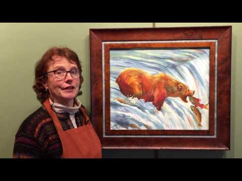 """""""Happy Meal"""" by Nancy Dunlop Cawdrey - Heart of the West Auction - Lot 61"""