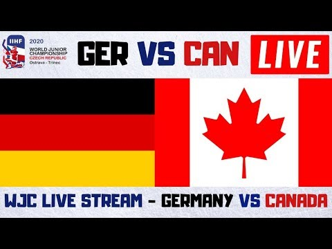 Germany Vs Canada World Juniors Hockey Live Stream | WJC Play By Play And Reactions
