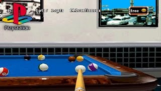 Backstreet Billiards (PS1 Gameplay)