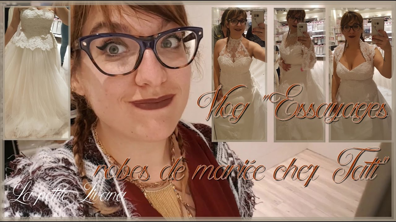 Chez Vlog Sport Mariée Tati Essayages Robes Et salle De wwa41g