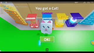 Roblox Om Nom Simulator gameplay (Opening eggs and playing minigames