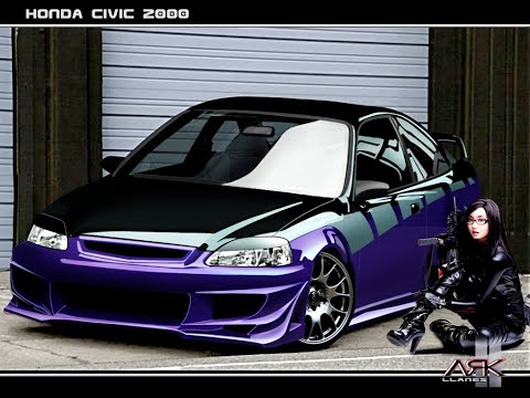 Need For Speed Underground 2 - Honda Civic U.R.L King - Tuning And Race