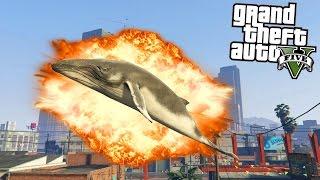 FUNNY ANIMAL MODS! (GTA 5 Funny Moments)