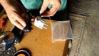 Как заменить нестандартную вилку для розетки,на стандартную
