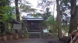 佐用城(福原城)跡 (兵庫県佐用町) Ruins of Sayo castle in Sayo town Hyogo prefecture