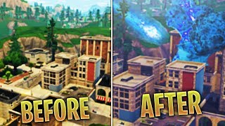 Fortnite Meteor has been ACTIVATED! Meteor Hitting TILTED TOWERS!