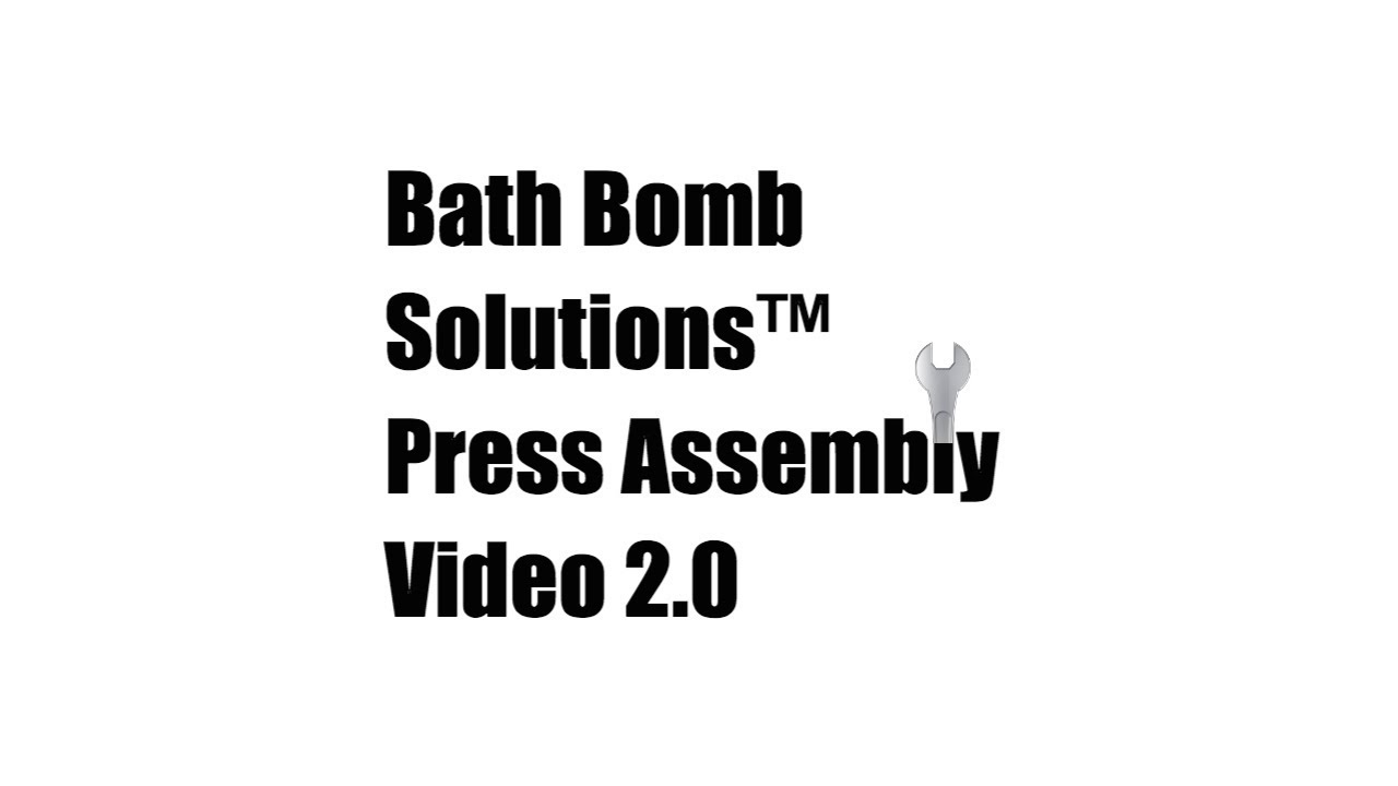 Bath bomb solutions press assembly video version 20 how to make bath bomb solutions press assembly video version 20 how to make bath bombs do it yourself solutioingenieria Gallery