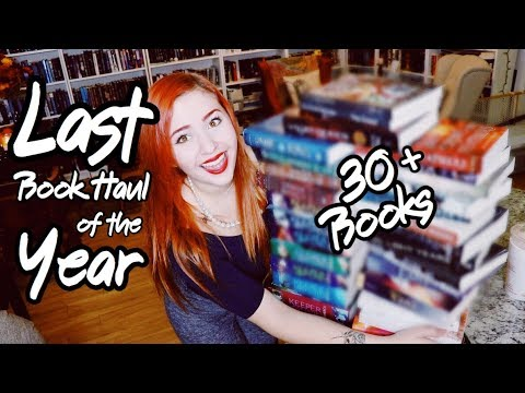 LAST Book Haul of the Year | 30+ Books!