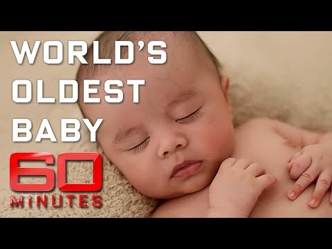 Meet the world's oldest baby - made with 23-year-old sperm | 60 Minutes Australia
