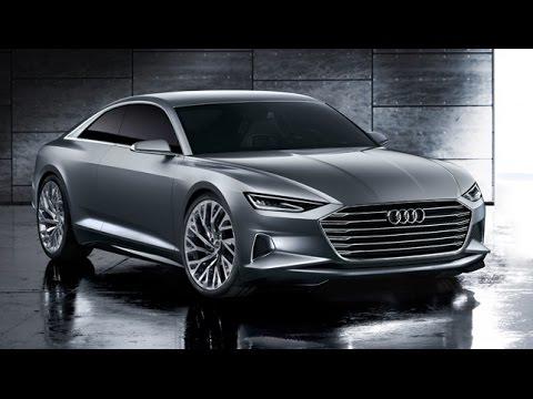 Audi A9 Coupé Concept - Sitzprobe im Audi Prologue