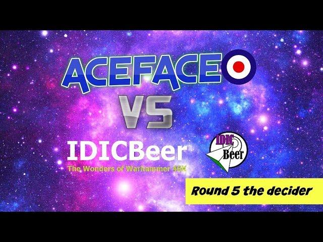 Aceface batrep Tau vs Necrons 2K (Aceface vs IDICBeer)