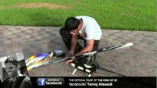 Tareq AlSaadi Flying his ALIGN T-REX 700 DFC - Full HD
