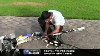 Tareq AlSaadi Flying his ALIGN T-REX 700 DFC - Full HD