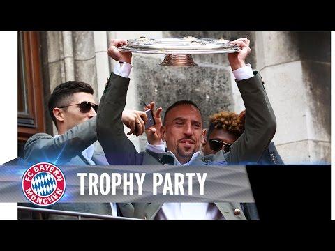 FC Bayern Trophy Presentation | ReLive