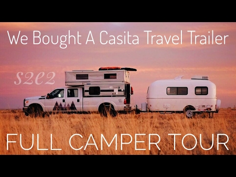 Our New Casita Travel Trailer || Full Camper Tour
