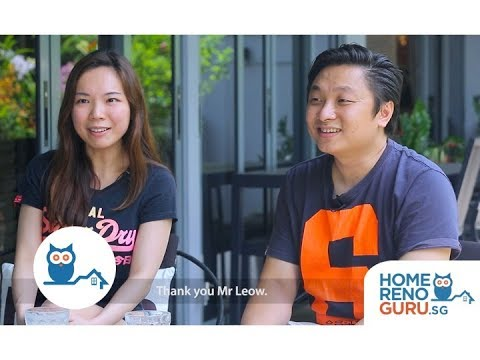 Dream Home of Ryan & Eileen - U-Home Interior Design【HomeRenoGuru.sg】