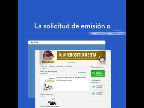 Firma Electrónica Colombianos en el exterior - Tenga en cuenta y #DecláreseTranquilo